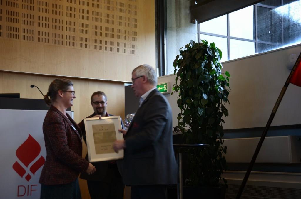 Ole Tikjøb udnævnt æresmedlem Årsmødet 2014
