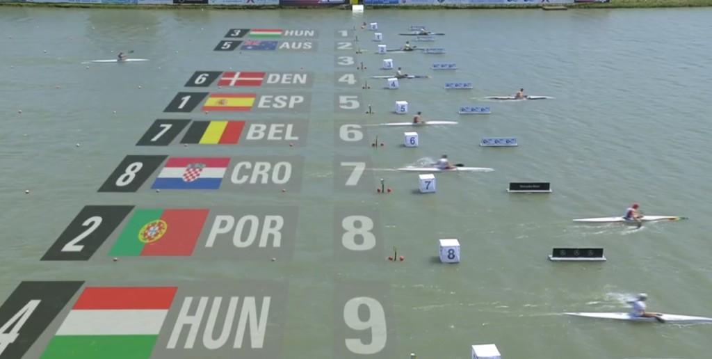 René 500 meter finale