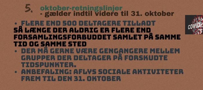 5 Oktober Covid 19 Restriktioner Med Flere Muligheder Dansk Kano Og Kajak Forbund